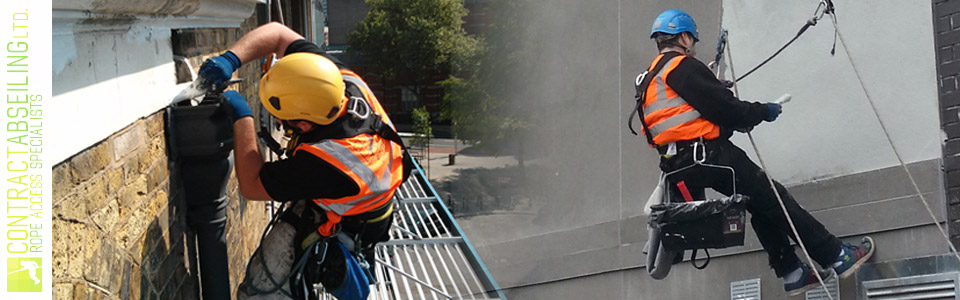Exterior Interior Building Painting Abseiling London